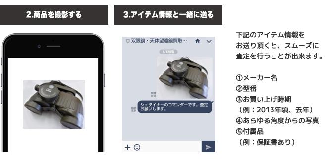 LINE査定 登録方法